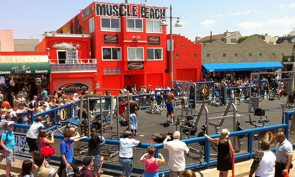 Muscle Beach Championship To Take Place On Labor Day
