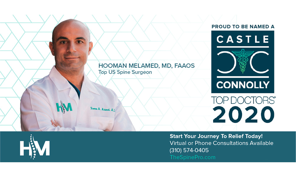 Dr. Melamed Recognized As A Top Doctor By Castle Connolly – Again!